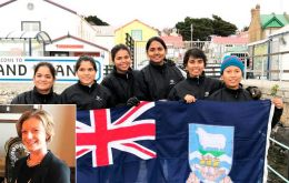 "MLA Teslyn Barkman said the Falkland Islands and are looking forward to showcasing ""our community and our culture during their stay with us"""