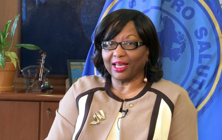 Dr. Etienne will begin her second five-year term as PAHO Director and WHO Regional Director on 1 February 2018.
