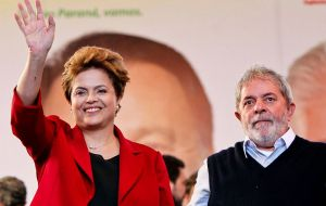Such was his popularity that he helped to elect his successor, President Dilma Rousseff, in 2010 and 2014.