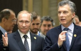 Argentina is one of Russia's leading trade and economic partners in the region and Macri is interested in Moscow's participation in infrastructure projects