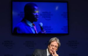 "Italian Prime Minister Paolo Gentiloni said it was legitimate to defend one's own citizens, companies and economic, but ""there is a limit""."