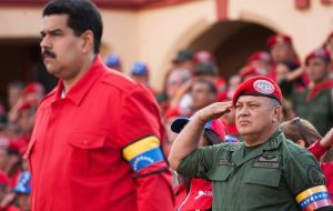 The constituent and important figure of Chavism, Diosdado Cabello, gave the announcement.