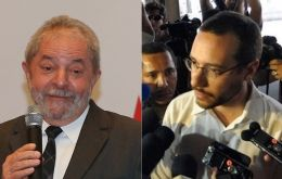 """He won't travel now,"" Lula spokesman Jose Chrispiniano (R) said, adding that the former leader had planned to attend an African Union conference in Ethiopia."