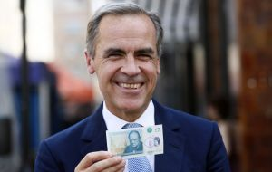 """What it works out to is tens of billions of pounds lower economic activity,"" Mr Carney told Radio 4's Today program."