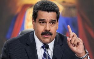 """Maduro is making a mockery of the region and the entire world,"" he said."