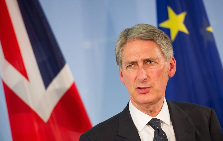 "Backbenchers criticized Philip Hammond this week for saying changes to UK-EU relations could be ""very modest""."