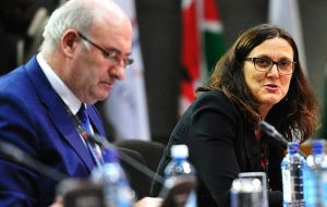 Agriculture Commissioner Phil Hogan is strongly resisting a higher figure, but trade commissioner Cecilia Malmström is willing to go beyond 100,000 tons