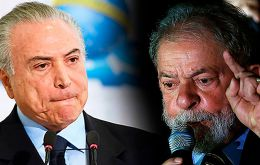 """He's a very charismatic figure. There's a reason he's leading opinion polls"", Temer said on Radio Bandeirantes. ""I don't think he's dead."""