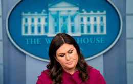 "White House Press Secretary Sarah Huckabee Sanders said Trump ""stands by his previous comments"" about McCabe"