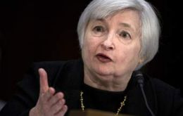 The announcement brought down the curtain on Janet Yellen's four-year tenure as the Fed's chairwoman. She will step down on Saturday at the end of her term.