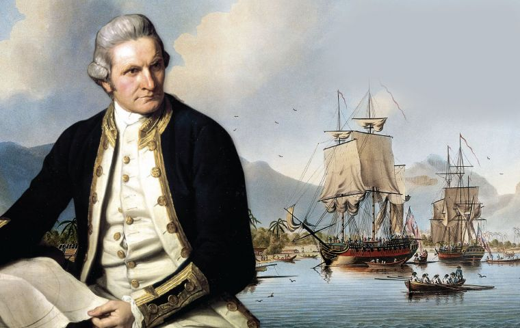 Portrait of Captain James Cook, by John Webber (BBC)