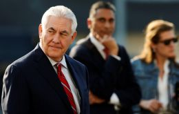 """Let's make sure we have systems in place where we understand who's coming into the country,"" Tillerson said. Immigration in U.S. has ""gotten out of normal order"""