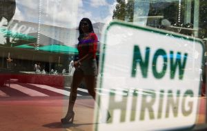 Payrolls expanded by hiring in construction, food services and health care, the USLabor Department said.