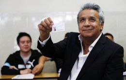 """The victory of the 'yes' vote opens the path for us to work together, confrontation is a thing of the past,"" Moreno said in a televised broadcast"