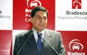 Current CEO and chairman Luiz Carlos Trabuco Cappi also ran Bradesco Seguros before becoming CEO in 2009, and will remain as chairman.