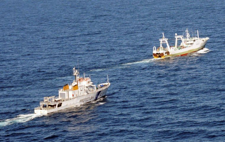 """Playa Pesmar Uno"" could be fined some US$ 300.000 for allegedly illegal fishing"
