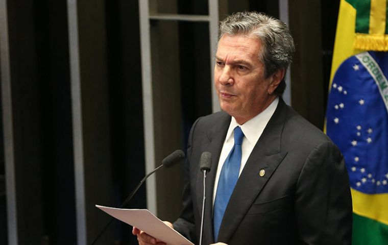 Senator Fernando Collor de Mello, Brazil's president from 1990-1992, had to resign shortly before being impeached on corruption charges.