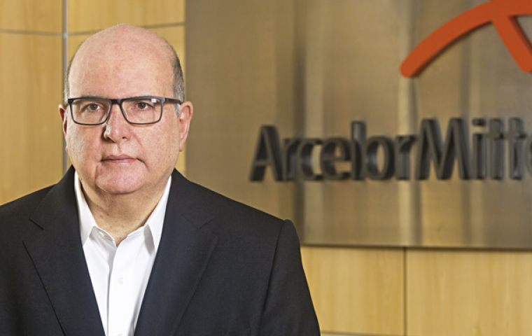 Jefferson de Paula, ArcelorMittal executive vice president said the company's  long steel capacity in Brazil would reach up to 6 million tons per year after the tie-up.