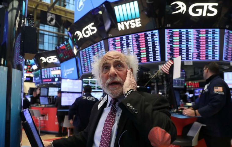 "Dow and S&P 500 are down more than 10% from their all-time highs, passing the psychological barrier known as ""correction"" for the first time in two years."