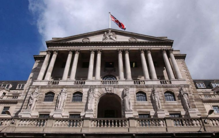 "Bank of England said rates would need to rise ""earlier"" and by a ""somewhat greater extent"" than they thought at their last review in November."