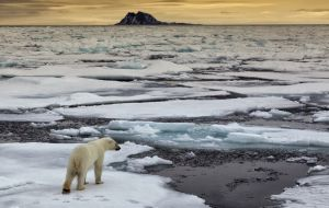 The increase of the oceans could intensify as the glaciers and ice sheets melt