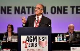 Cordeiro's mandate is to restore U.S credibility in football around the globe after the country's national team failed to qualify for the 2018 World Cup in Russia