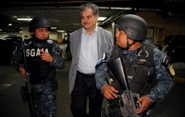 In Guatemala, Mr Fuentes is among 10 top former government officials arrested on Tuesday, including former President Álvaro Colom.