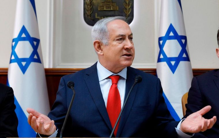 """What motivates me is one thing,"" Netanyahu said, ""is to ensure the future of our state. Therefore I say to you, this government will fulfill its term"""