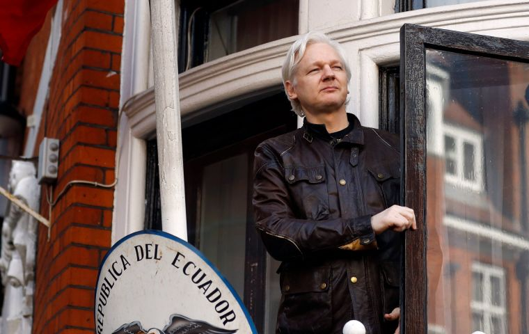 "Assange said on Twitter he had three months to appeal the ruling. He said the judge's ruling contained ""significant factual errors"" which he did not spell out"