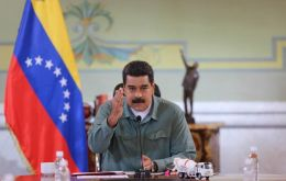 """Summon a summit, are you afraid of me?"" Maduro said at the press conference."