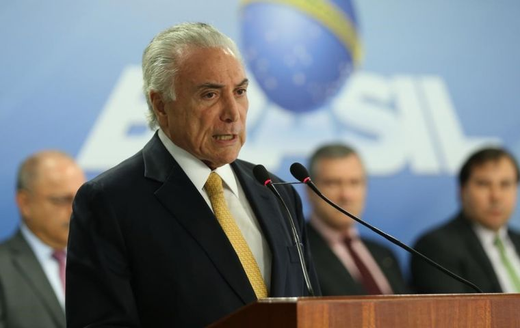 """From next week or the next, I want to create a ministry of public security to co-ordinate all efforts,"" said Temer after leaving a meeting in Rio"