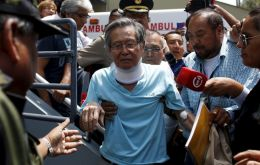 Fujimori, 79, was pardoned by the current Peruvian president, Pedro Pablo Kuczynski, on December 24 on humanitarian grounds because of ill health.