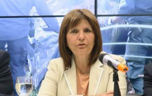 Argentine Security Minister Patricia Bullrich said the arrests mark the end of a 14-month investigation that began in December 2016