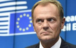 "Mr Tusk, who is due to meet the PM, said media reports suggested the ""cake philosophy is still alive"" in the UK."