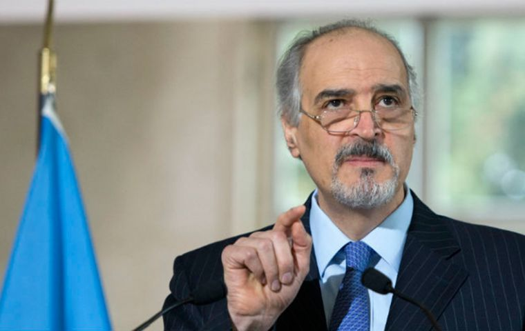 "Syria's Bashar Ja'afari was elected to UN's Special Committee on Decolonization, C24, guided by the principle of ""respect for self-determination of all peoples""."