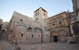 The Holy Sepulcher church, is where Jesus is believed to have been crucified, buried and resurrected, is one of Christianity's holiest sites.