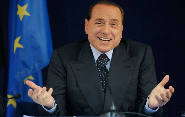 Although barred from public office owing to a tax fraud conviction, Berlusconi is hoping to position himself as a key deal-maker in the next government