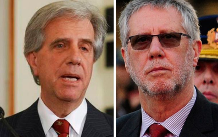 President Tabare Vazquez named his brother, a licensed nurse, as deputy of the Home Office