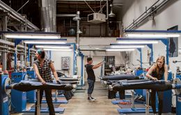 By replacing manual labor with lasers, Levi's will be able to finish a pair of jeans every 90 seconds, instead of just two to three pairs an hour.