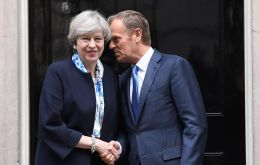 Mrs May, due to chair a meeting of the cabinet before her talks with Mr. Tusk, has already pledged not to accept the draft treaty as it stands.