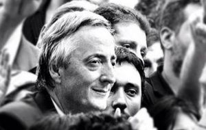 Ex president Nestor Kirchner, was governor of the Santa Cruz province from 1991 to 2003.