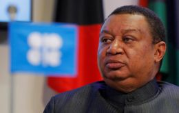 OPEC Secretary General Mohammad Barkindo and other OPEC officials are expected to hold a dinner on Monday with U.S. shale firms on the sidelines of the conference.