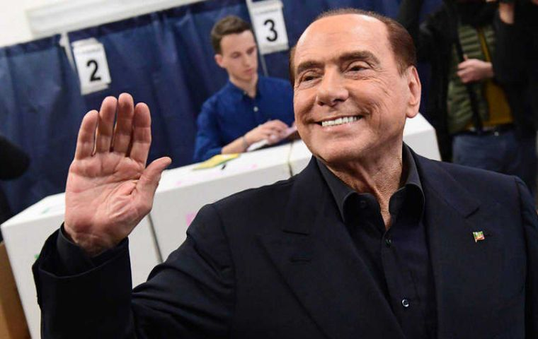 If Berlusconi fails to cobble together a parliamentary majority, the Five Star Movement will likely have to form a coalition.