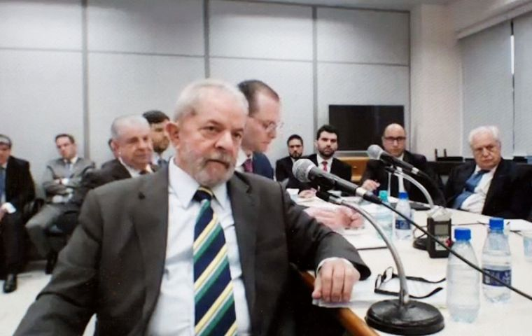 A panel of judges rejected Lula's request for an injunction that would prevent him from imprisonment as he appeals a corruption conviction.