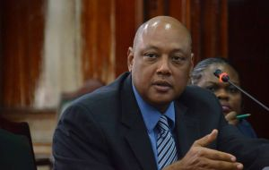 "Guyana Resources Minister Raphael Trotman said Pacora was in line  with ""an aggressive program of exploration and as we proceed towards production in 2020""."