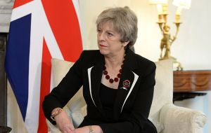 "Prime Minister Theresa May said ""reciprocal access"" with EU would be discussed, but said there would need to be ""a fairer allocation"" for UK fleets."