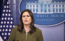 """We expect the president will sign something this week, and there are potential carve-outs for Mexico and Canada"" press secretary Sarah Huckabee Sanders said"