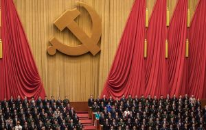 The amendments passed smoothly in the rubber stamp National People's Congress with only five dissenting votes. Of some 3,000 delegates, 2,958 voted in favor.