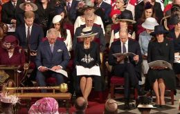 London hosted a gathering of leaders from the 53 member nations, with the Queen's Commonwealth Day message featuring in a service at Westminster Abbey.