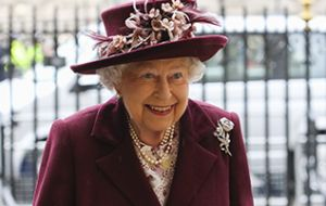 "In her message, the Queen said the Commonwealth is an example of how consensus can ""help to create a future that is fairer, more secure, more prosperous and sustainable""."